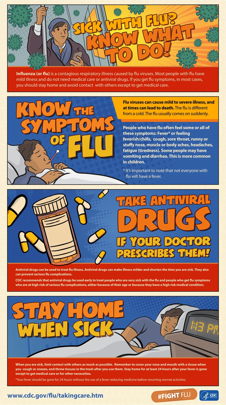 Got The Flu? Know What To Do!