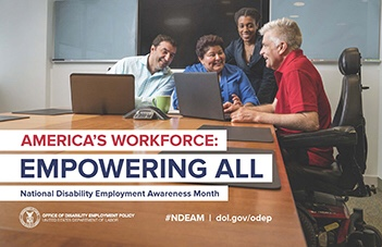 Get Free Poster For October's  National Disability Employment Awareness Month2018